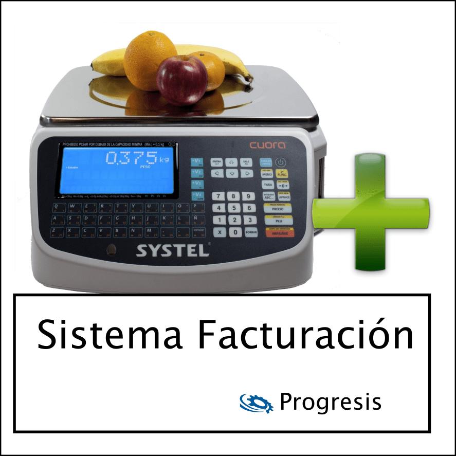 Balanzas Systel Cuora 30 kg + Programa envio de precios a balanza y facturación
