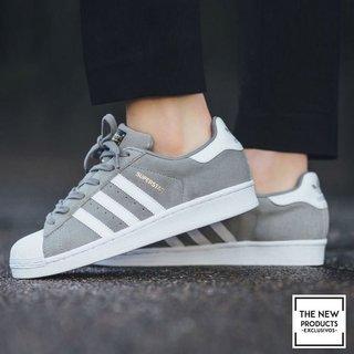 Adidas Adidas Superstar Gris Superstar Shoes Shoes 0wn8OPk