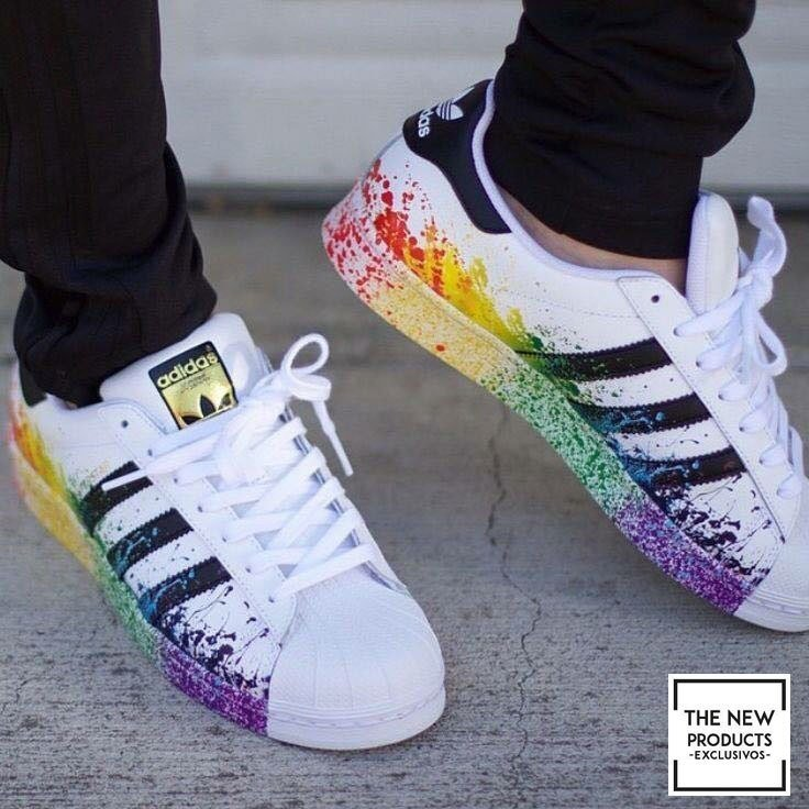 adidas superstar con colores