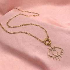 Collar Eye Gold - comprar online