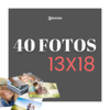Pack 40 fotos 13x18