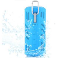 Parlante Power Bank Aj-96 Resistente al agua Bluetooth Linterna en internet