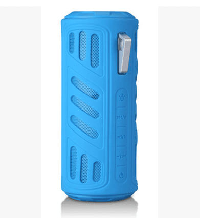 Parlante Power Bank Aj-96 Resistente al agua Bluetooth Linterna - Imagen digital