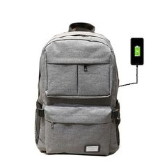 Mochila Smart Usb Porta Notebook Tablet Netbook Unisex