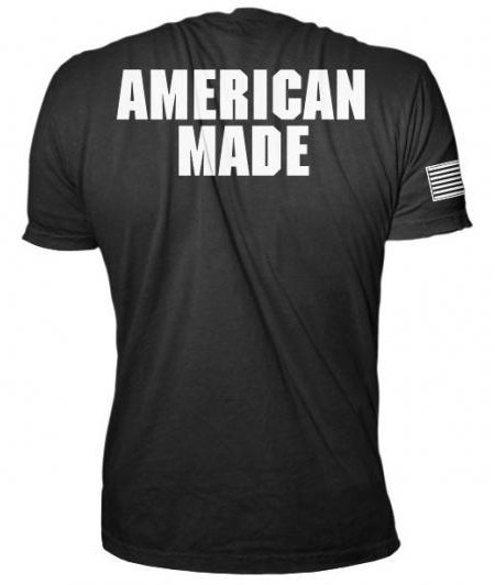 CAMISETA ROGUE AMERICAN MADE PRETA