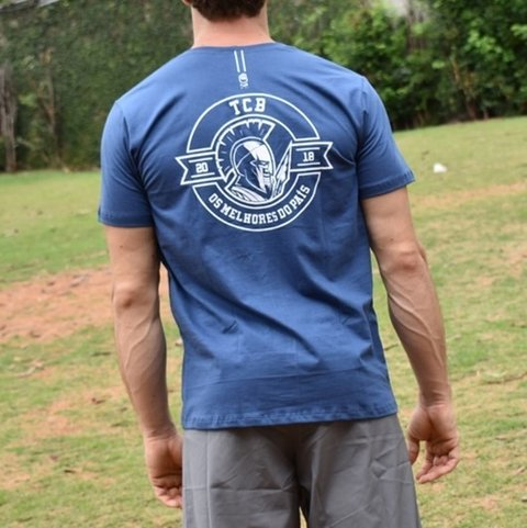 CAMISETA TCB 2018 ESPARTANO AZUL