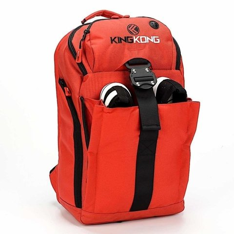 MOCHILA KING KONG - MINI BACKPACK VERMELHA