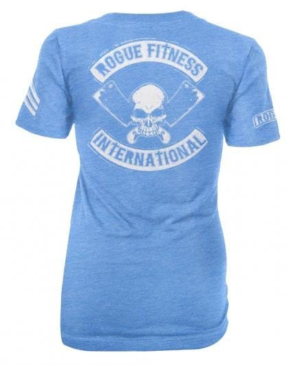 CAMISETA FEMININA ROGUE INTERNATIONAL AZUL