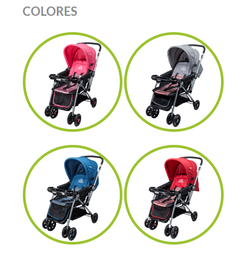 COCHE BB DUCK BABY 100718TS PARTY TS ROSA - comprar online