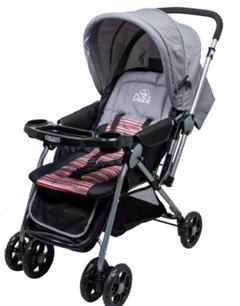 COCHE BB DUCK BABY 100718TS PARTY TS ROSA