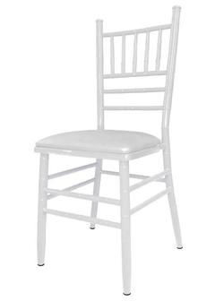 SILLA TIFFANY FT590000 METAL BLANCO GARDENLIFE