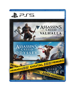 Assassin´s Creed Valhalla + Odyssey + Origins