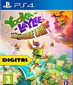 Yooka-Laylee and the Impossible PS4