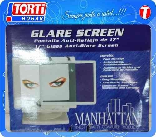 Pantalla Anti Reflejo Manhattan 17  Monitor Crt