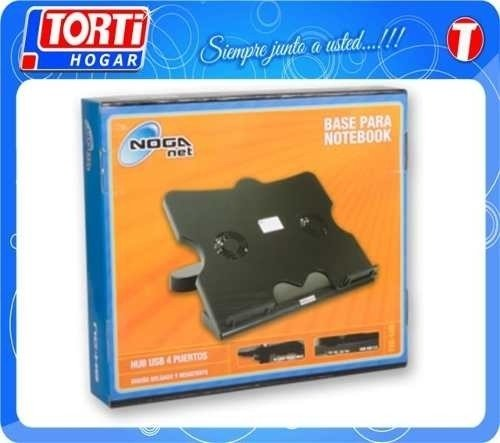 Base Para Notebook Noganet Ng-u8 2 Coolers Miramar Bs As - TORTI HOGAR