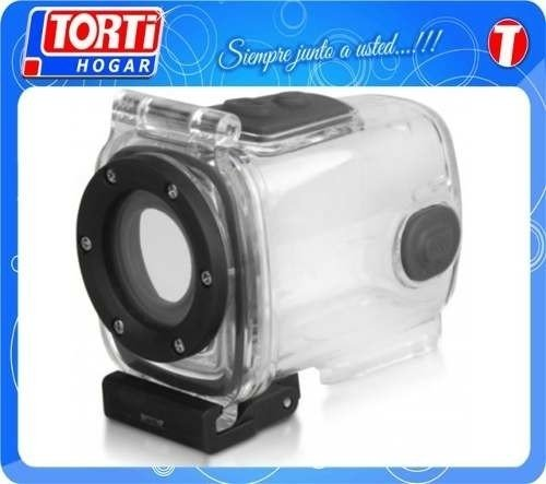 Camara Deportiva Sumergible Braun Jumper Action Hd720 Casco - TORTI HOGAR