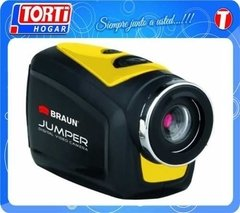 Camara Deportiva Sumergible Braun Jumper Action Hd720 Casco
