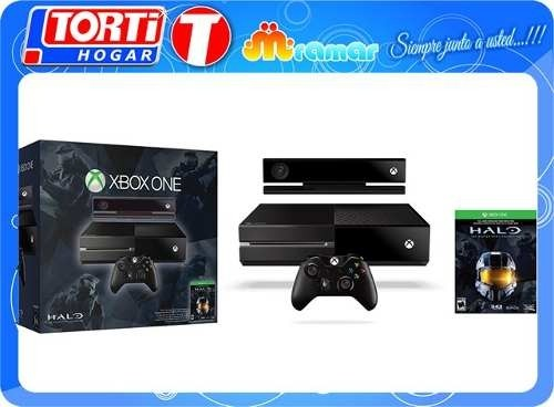 Consola Xbox One 500gb Kinect+ Halo Master Chief Collection - comprar online