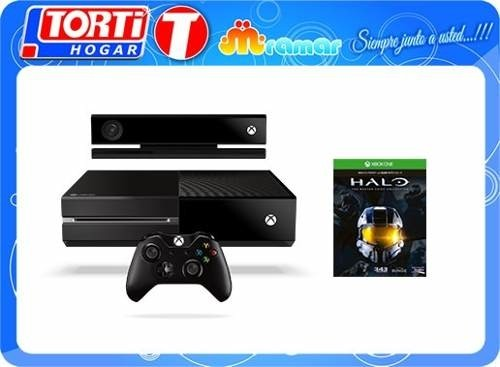 Consola Xbox One 500gb Kinect+ Halo Master Chief Collection en internet