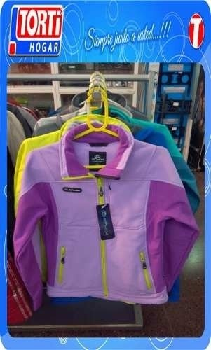 Campera Athix Softshell Fucsia Impermeable Termica Dama - comprar online