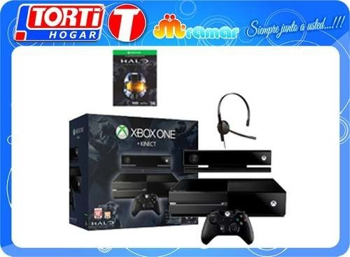 Consola Xbox One 500gb Kinect+ Halo Master Chief Collection - TORTI HOGAR