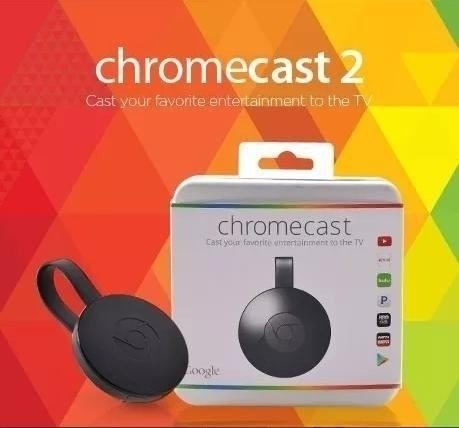 Nuevo Google Chromecast 2 Generacion Smart Tv Box Netflix