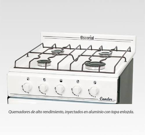 Cocina Escorial Candor Gas Natural en internet