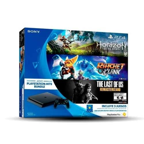 Ps4 - Sony - Playstation 4 Hit Bundle 500gb + 3 Juegos en internet