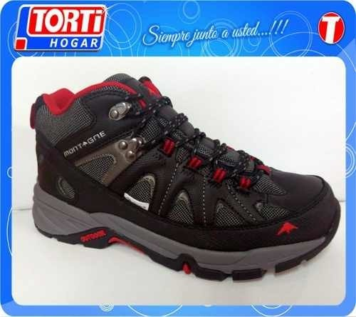 Zapatilla Tipo Bota Montagne Everest Trekking Impermeable - comprar online
