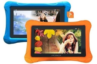 Tablet Pcbox Infantil T715k Kids Con Funda Android Naranja