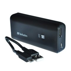 Cargador Verbatim Usb Power Pack 4400 Mah Portatil Negro