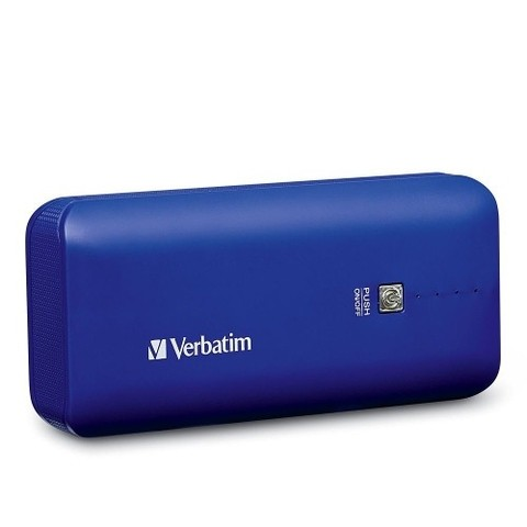 Cargador Verbatim Usb Power Pack 4400 Mah Portatil Azul