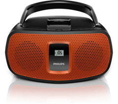Reproductor de CD PHILIPS AZ391/77 USB mp3