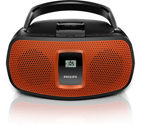 Reproductor de CD PHILIPS AZ391/77 USB mp3 - comprar online