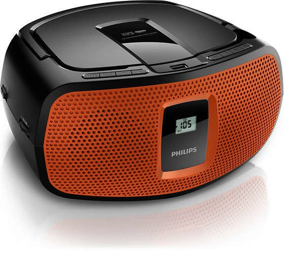 Reproductor de CD PHILIPS AZ391/77 USB mp3 en internet
