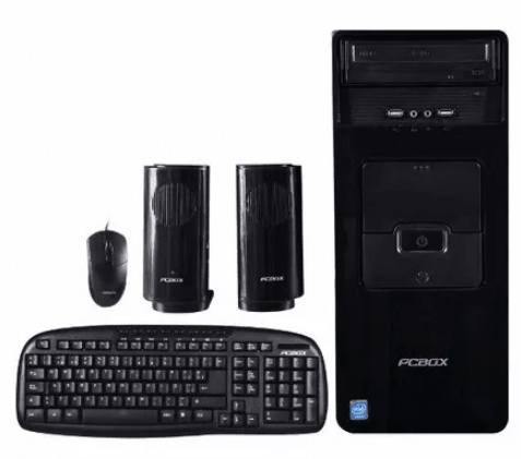 Computadora PCBOX Combo PC Intel Celeron 4gb 1tb + Monitor + Kit en internet