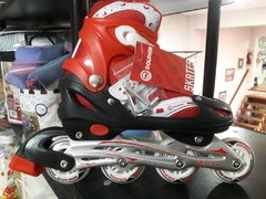 Rollers DOLPHIN abec 7 rojo 39-42