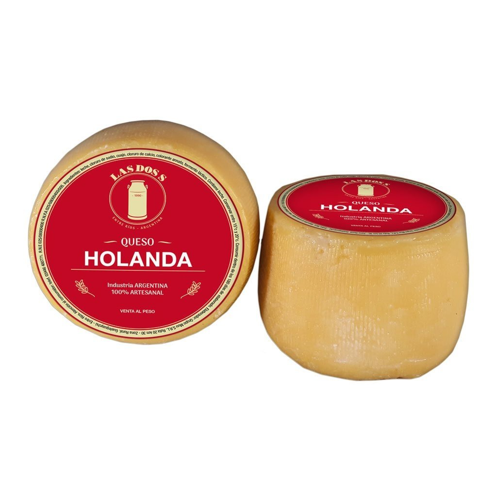 Queso Holanda chico por mayor
