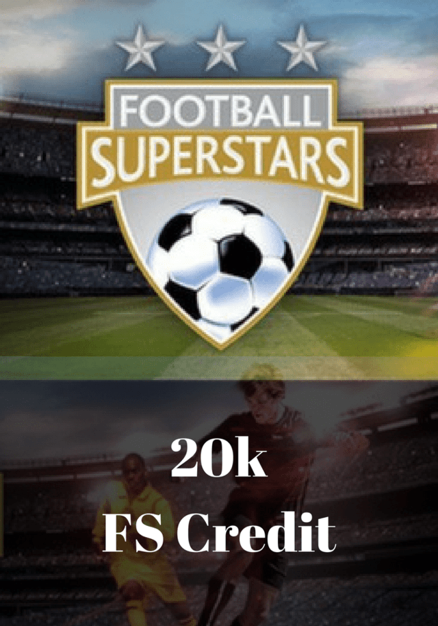 Football Superstars - 20K FS Credits