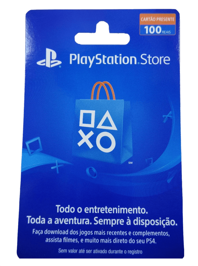 Playstation Store - R$100