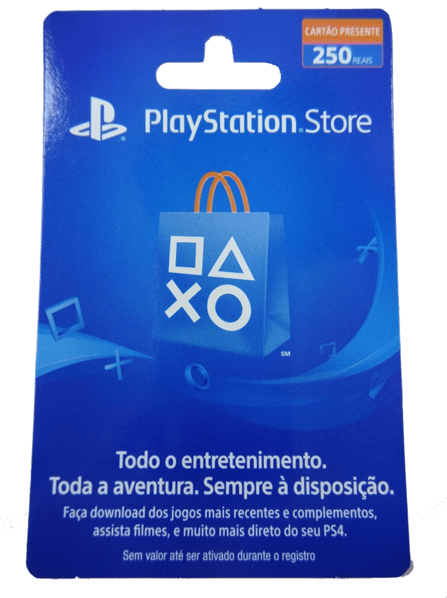 Playstation Store - R$250