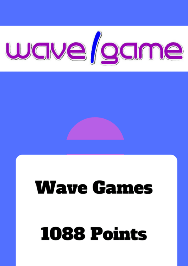 Wave Game - 1088 Points