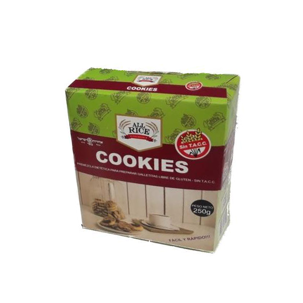 Premezcla para Cookies - All Rice x 250 Gs