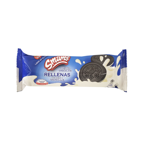 Galletitas Chocolate Rellenas Smams x 105 Gs