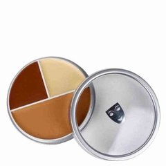 Trio de Base Kryolan Ultra Foundation Trio C