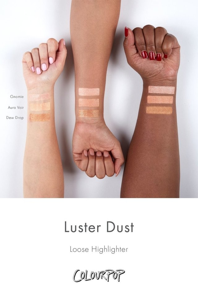 Iluminador em pó Colourpop Luster Dust Dew Drop na internet
