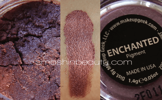 Pigmentos Enchanted Makeup Geek