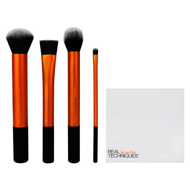 Kit de pincéis Real Techniques Flawless base set - comprar online
