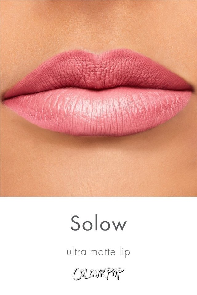 Batom Colourpop Solow na internet