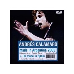 ANDRES CALAMARO / MADE IN ARGENTINA (CD+DVD)